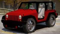Jeep Wrangler V1 for GTA 4