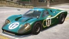 1967 Ford GT40 V1 PJ7 for GTA 4
