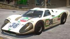 1967 Ford GT40 V1 PJ1 for GTA 4