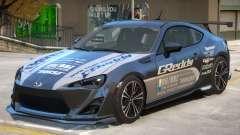 Subaru BRZ V1 PJ2 for GTA 4