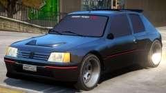 Peugeot 205 V1.2 for GTA 4