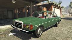 Mercedes-Benz 230 W123 1978 v2.0 for GTA 5
