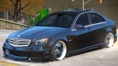 Mercedes Benz C63 Upd for GTA 4