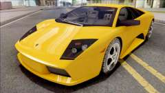 Lamborghini Murcielago Yellow for GTA San Andreas