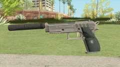 Hawk And Little Pistol GTA V Black (Old Gen) V6 for GTA San Andreas