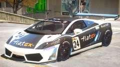 Lamborghini Gallardo GT3 PJ1 for GTA 4