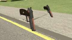 Hawk And Little Pistol GTA V (Orange) V1 for GTA San Andreas