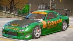 Mazda RX-7 V2 PJ2 for GTA 4