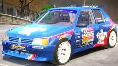 Peugeot 205 V1 PJ for GTA 4