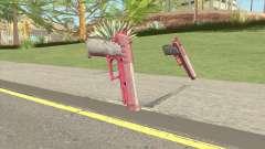 Hawk And Little Pistol GTA V (Pink) V1 for GTA San Andreas