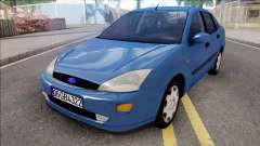 Ford Focus Sedan 1.6 Ambiente 1998 for GTA San Andreas