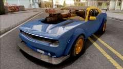 GTA V Bravado Gauntlet Hellfire IVF Blue for GTA San Andreas