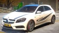Mersedes Benz A45 V1 PJ2 for GTA 4