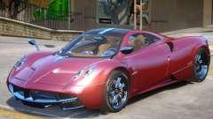 Pagani Huayra furious V1 for GTA 4