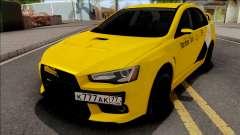 Mitsubishi Lancer Evolution 10 Yandex Taxi