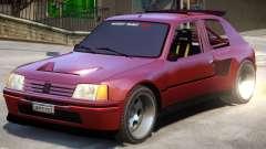 Peugeot 205 V1.1 for GTA 4