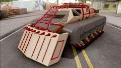 GTA V HVY Scarab FS Track Weels Moving for GTA San Andreas