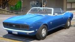 1968 Chevrolet Camaro R1 for GTA 4