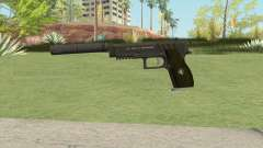 Hawk And Little Pistol GTA V (Green) V6 for GTA San Andreas