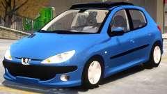 Peugeot 206 V1.2 for GTA 4