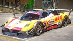 Pagani Zonda R PJ5 for GTA 4