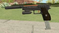 Hawk And Little Pistol GTA V (Orange) V3 for GTA San Andreas