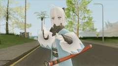 Okita Souji With Katana (Fate) for GTA San Andreas