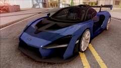 McLaren Senna 2019 Blue for GTA San Andreas