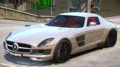 Mercedes Benz SLS Widestar for GTA 4