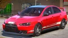 Mitsubishi Lancer PJ1 for GTA 4