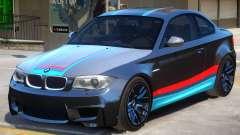 BMW M1 E82 PJ for GTA 4