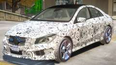 Mercedes Benz CLA V1 PJ for GTA 4