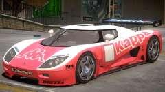 Koenigsegg CCGT V2 PJ5 for GTA 4