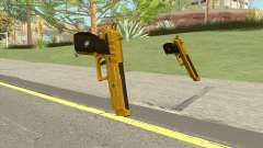 Hawk And Little Pistol GTA V (Gold) V1 for GTA San Andreas