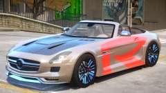 Mercedes Benz SLS Rodster PJ2 for GTA 4