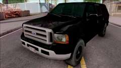 Ford Excursion SWAT Low Poly