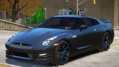 Nissan GTR V2 for GTA 4
