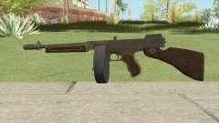Edinburgh Gusenburg Sweeper GTA V (Black New) V2 for GTA San Andreas