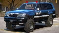 Toyota Land Cruiser Police for GTA 4