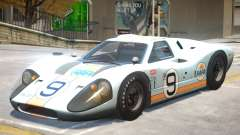 1967 Ford GT40 V1 PJ6 for GTA 4