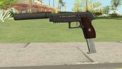 Hawk And Little Pistol GTA V Black (New Gen) V7 for GTA San Andreas