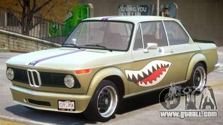 1973 BMW Turbo V1 PJ for GTA 4