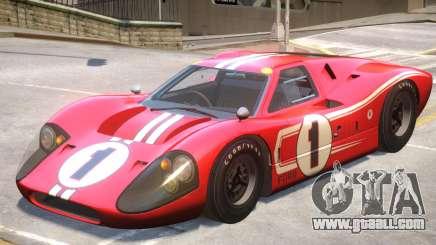 1967 Ford GT40 V1 PJ9 for GTA 4