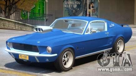 1967 Ford Mustang V1 for GTA 4