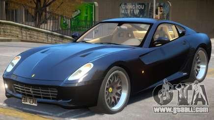 Ferrari 599 GTB V2 for GTA 4