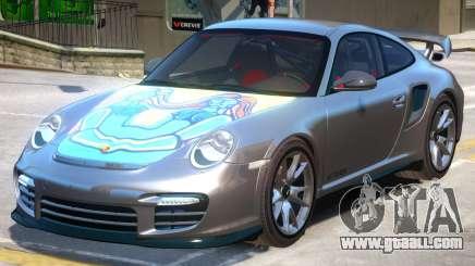 Porsche 911 GT2 PJ6 for GTA 4