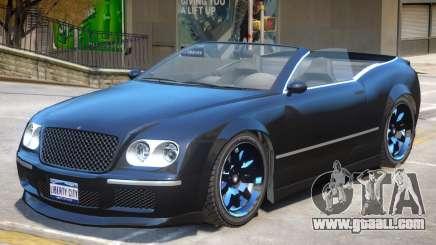 Enus Cognoscenti Cabrio V2 for GTA 4