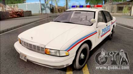 Chevrolet Caprice 1995 SA State Police for GTA San Andreas