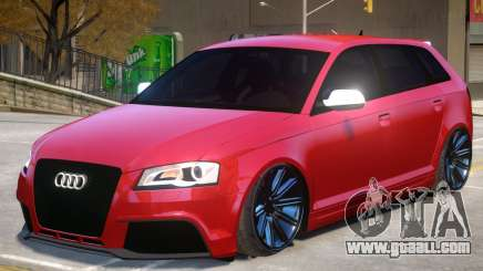 Audi RS3 Sportback V1 for GTA 4