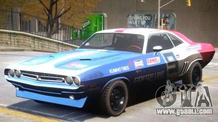 Dodge Challenger V1 PJ5 for GTA 4